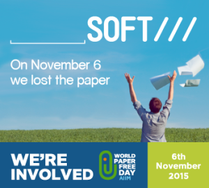 Papersoft joins World Paper Free Day 2015