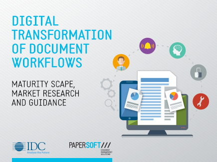 Digital Transformation of Document Workflows: maturity scape, market research and guidance