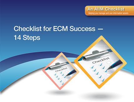 14 Steps to a Successful ECM Implementation