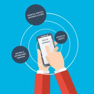 Soluções on-line para mobile money