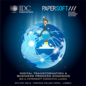 Déjeuner de travail IDC Papersoft Executive Digital Transformation