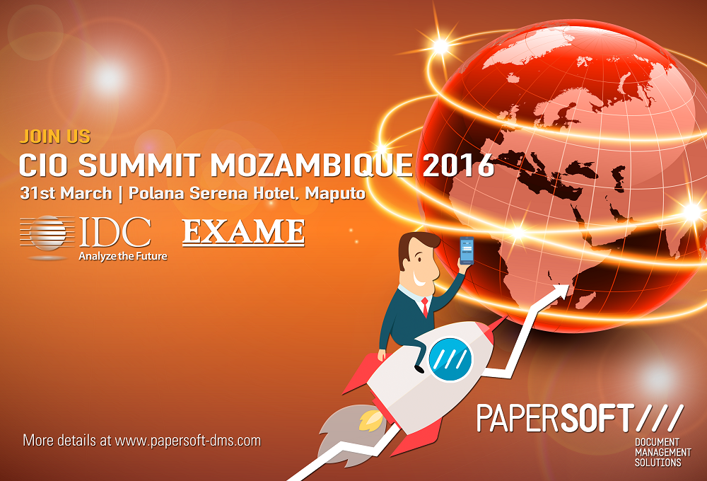 Papersoft joins IDC CIO Summit Mozambique