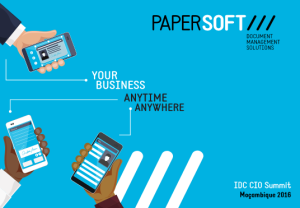 Papersoft presentation at IDC CIO Summit Mozambique
