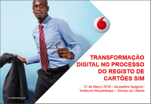 Vodacom presentation at IDC CIO Summit Mozambique