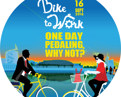 Vélo au travail, vélo à Papersoft