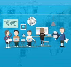 Services partagés - les avantages de travailler ensemble pour des processus sans papier