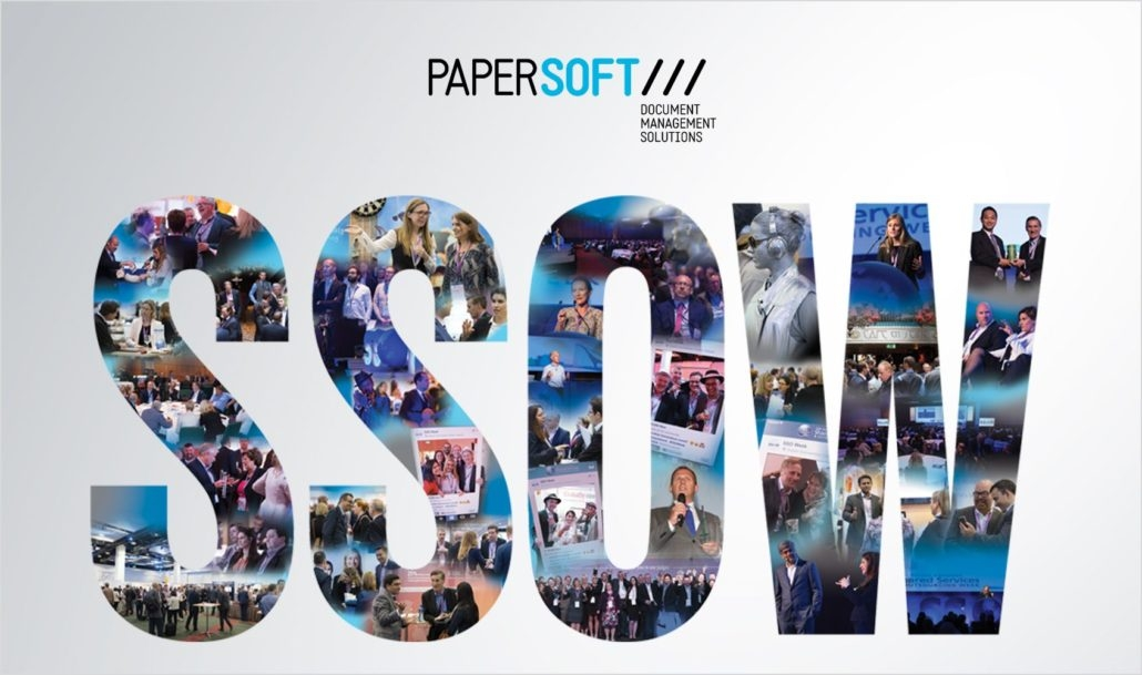 Papersoft exhibits at SSOW 2017 – Shared Services and Outsourcing Week
