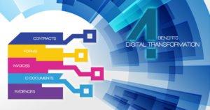 Benefícios 4 da transformação digital de documentos e como avaliar sua maturidade