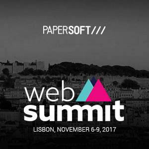 Papersoft showcases its technology at Web Summit 2017