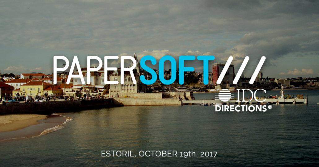 Papersoft sponsors and exhibits at IDC Directions 2017