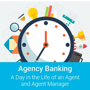 Papersoft [infográfico] Agência Bancária - Um dia na vida de um agente e gerente de agente