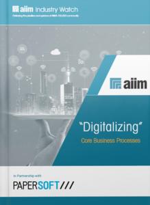 "[Report] - ""Digitalizing"" Core Business Processes"