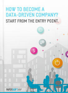 Become a data-driven company - Starting with Data Capture