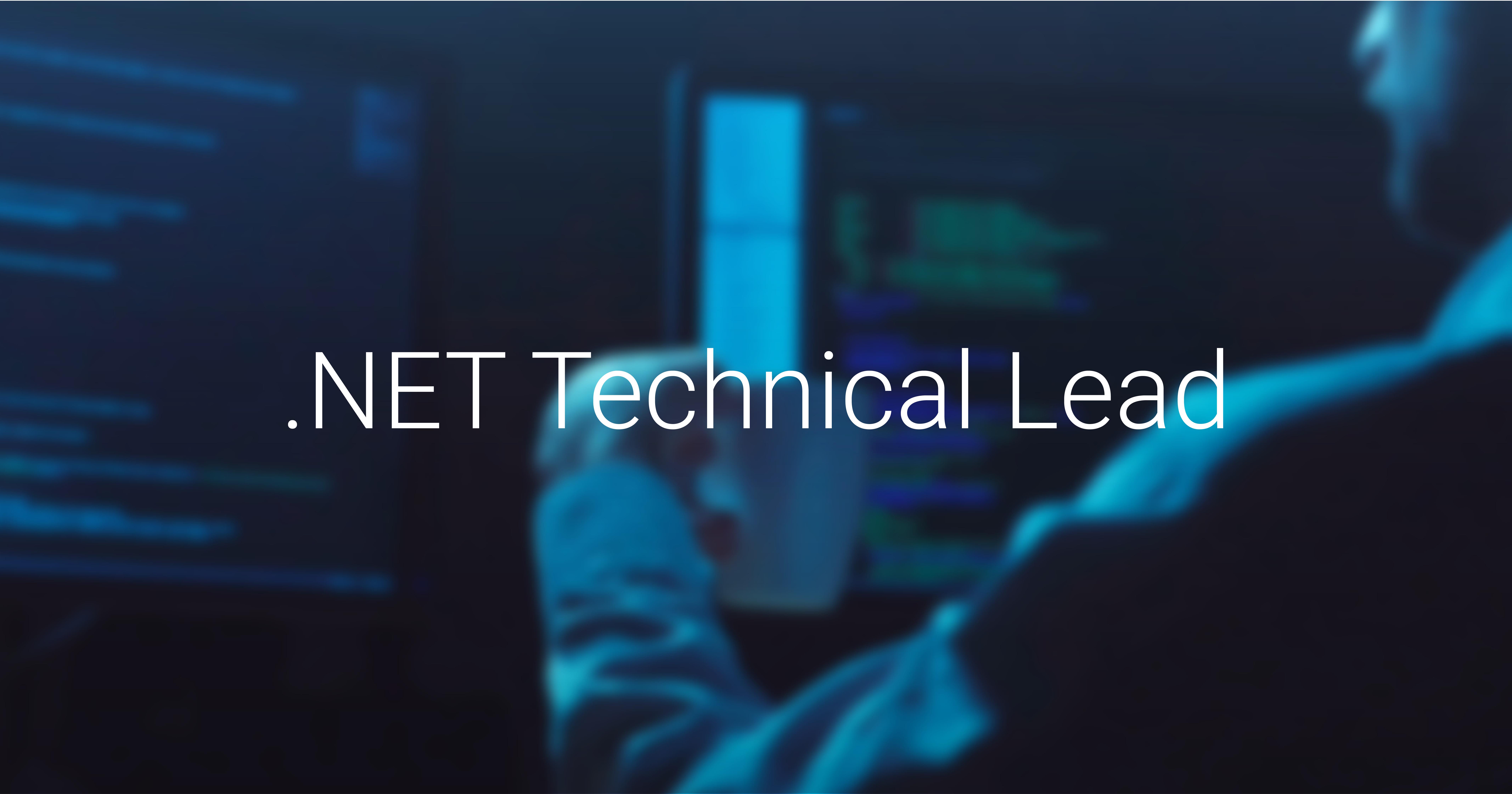.NET Technical Lead