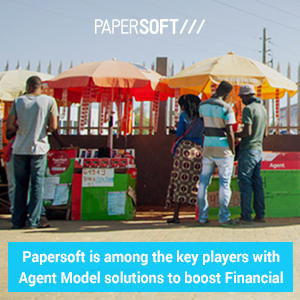 Report: Papersoft is among the key players with Agent Model solutions to boost Financial Inclusion